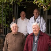 Astley Park Mens Bowls Club members